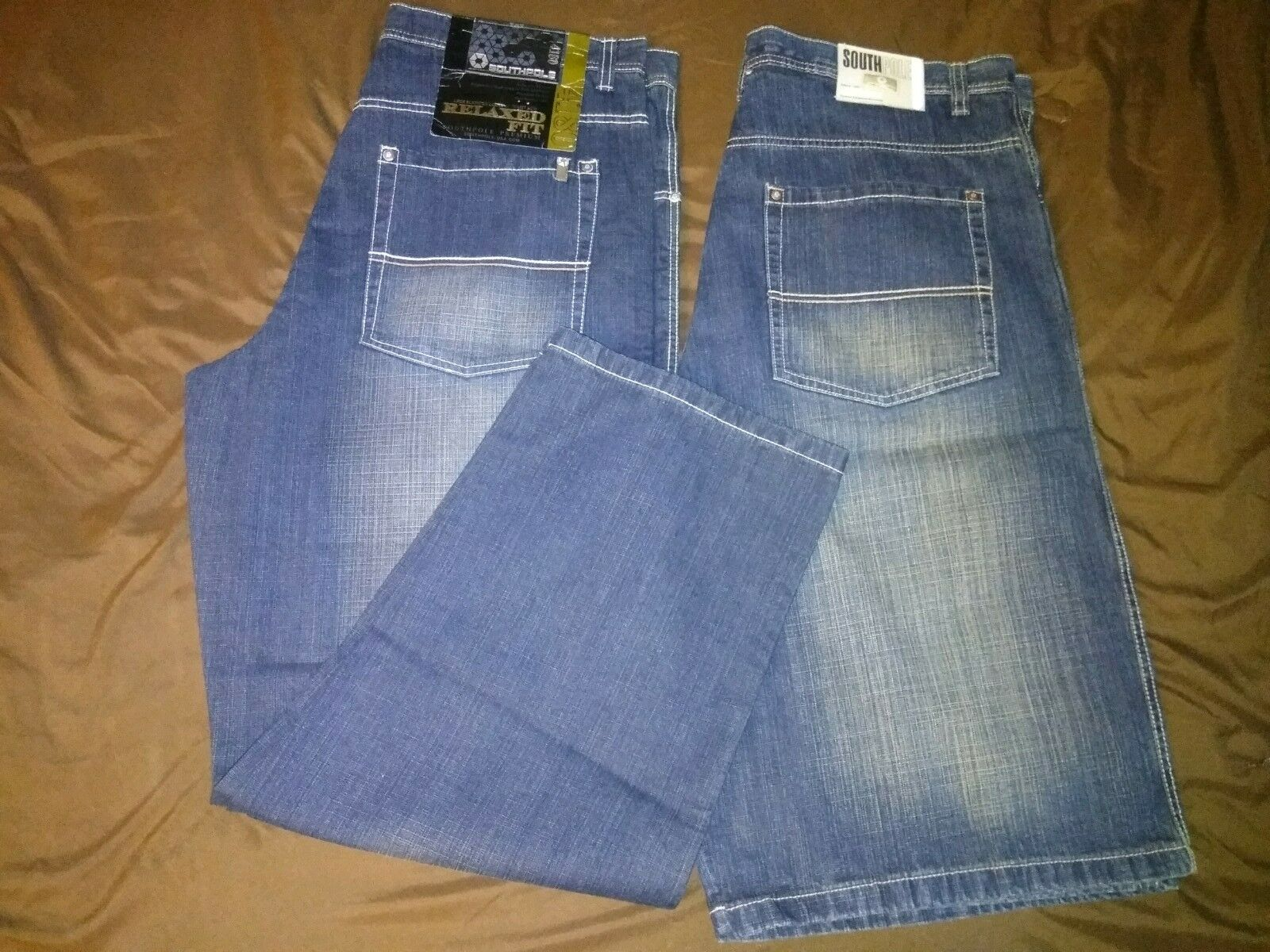 Lot of 2 Mens Southpole Jeans Size 42 (Jeans & Shorts)