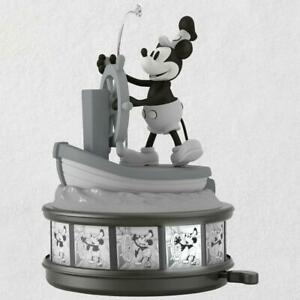 2018-Hallmark-Keepsake-Ornament-Steamboat-Willie-Mickey-Mouse-90th-Anniversary