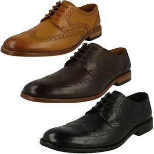 Zapato sin cordones de piel Clarks FLANK Zapatos sin