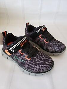 Toddler-Boys-039-S-Sport-by-Skechers-Tmesis-Athletic-Shoes-Black-Orange-Size-7