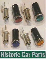 VERDE ROJO AZUL ámbar colores de Testigos 12v Reemplazable lámparas