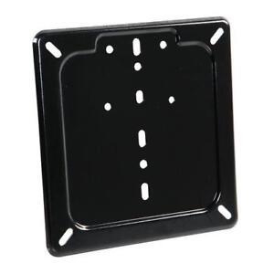 Porta-targa-in-acciaio-inox-Nero