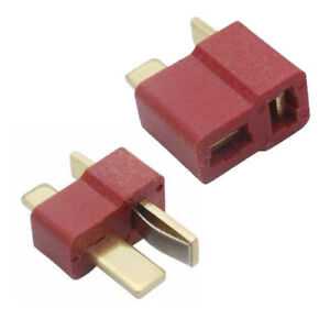 10-Paar-Deans-Rutschfester-T-Stecker-Maennliche-Weibliche-RC-ESC-Batterie-ET