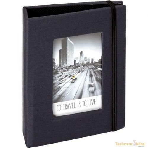 20 on Clip Strip Black Universal Mini Instax Photo Album