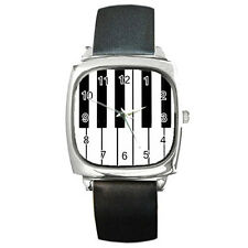 New Piano Keyboard for Square Metal Watch Free Shipping