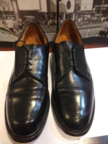 ALLEN EDMONDS Brentwood USA Black Leather Dress Ox