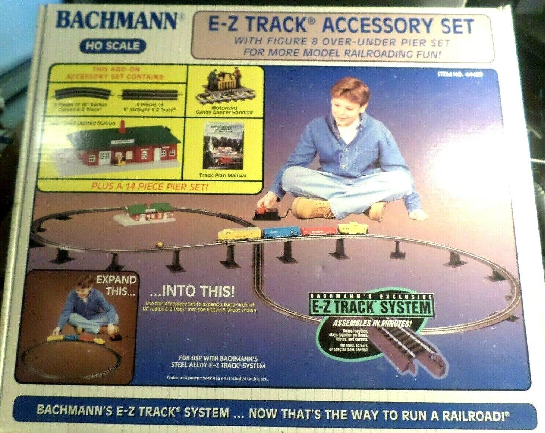 HO scale BACHMANN   44493,  E-Z TRACK ACCESSORY SET