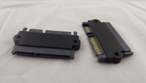 10x SATA 22P 7+15Pin Male Plug to SATA 22Pin 7+15P Female Jack Convertor Adapter