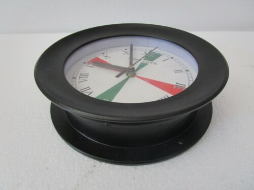 SHIP/'S  Clock – Marine RADIO ROOM Clock – ROMAN 5008B LARGE BOAT // NAUTICAL