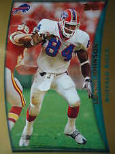 NFL 182 Lonnie Johnson Buffalo Bills Topps 1998