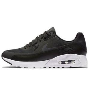 Nike Women Air Max 90 Ultra 2.0 Sneaker Leather Black Sz 12 881106 ...
