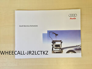 AUDI-SERVICE-BOOK-NEW-ALL-MODELS-PETROL-AND-DIESEL-A1-A2-A3-A4-A5-A6-A8-S2-S3