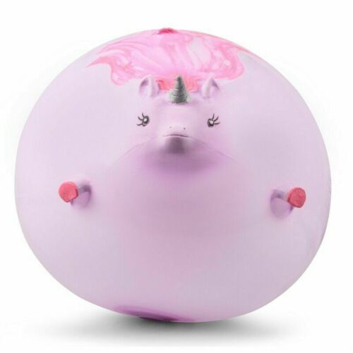 UNICORN BALLOON BALL Inflatable Assorted Farm Blowup Squeeze Bouncing Balls Gift