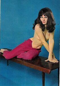 PIN-UP-Sexy-NUDE-Girl-PC-Circa-1960-Real-Photo-Vera-Foto