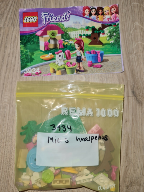 Lego Friends, 3934, Lego Friends sæt 3934 -Mias hvalpehus.…