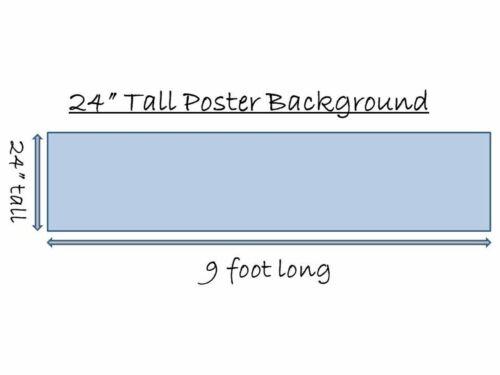 """24/"""" póster de plástico de fondo de arco alto solitaria Foto Imagen Para Acuario//Viv"""