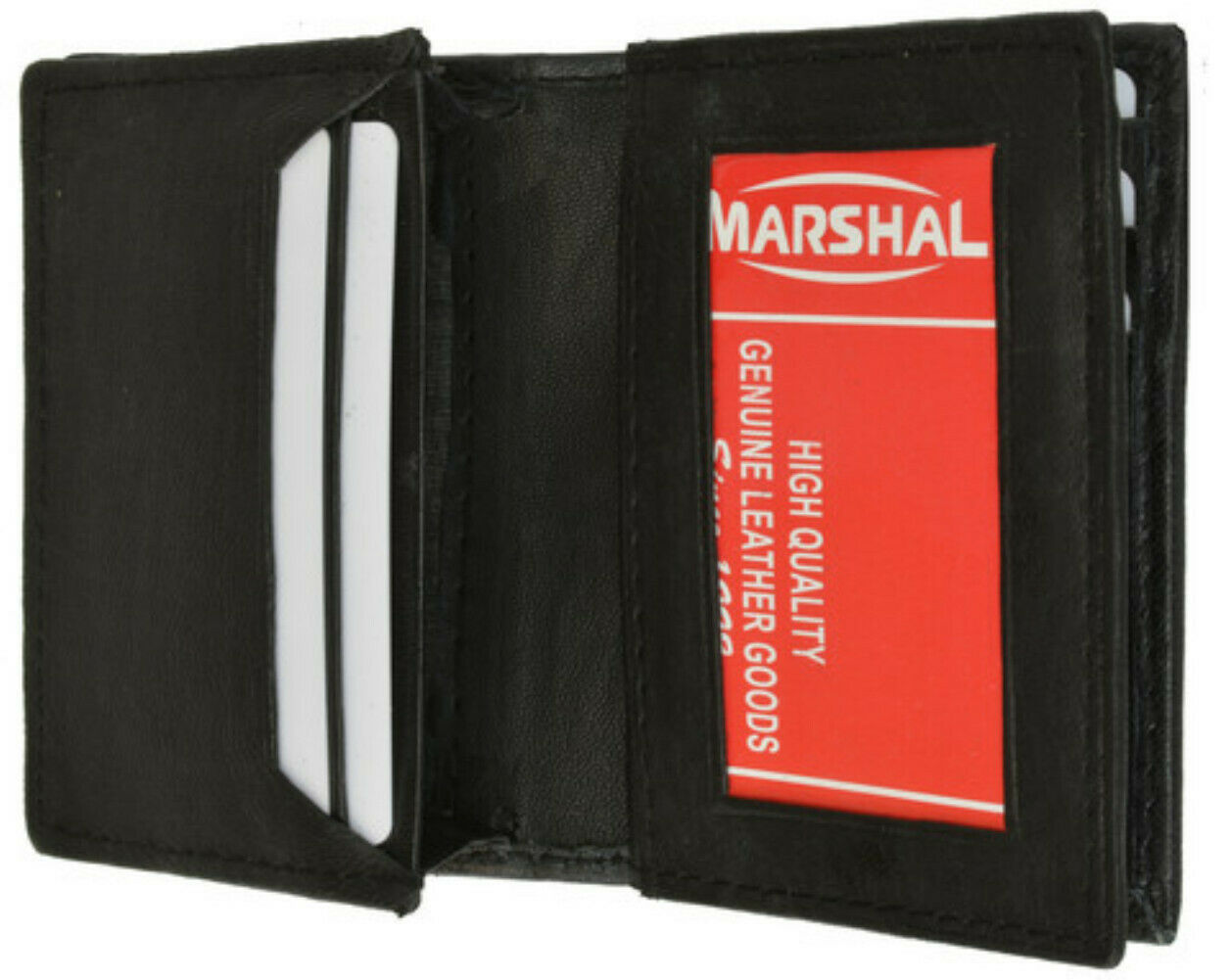 Money and Business Card holder - Style 1157 - Black