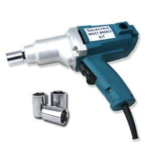 1 2 Inch Drive Electric Impact Wrench Gun Power Tool Ebay