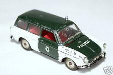 Märklin Modellauto VW Variant 1600 L Guss Polizei