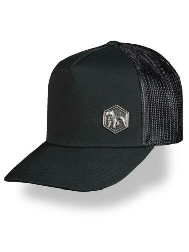 Amstaff Casquette BARKY Trucker meshcap Cap en Noir
