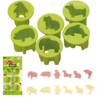 Vegetable Cutter Set Of 6 Vegetable Cutters, Animal Shapes