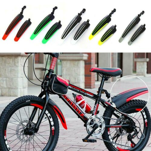 2 Pcs Bicycle Mtb Mudguards Set Mtb Bike Front Rear Mud Guard Tire Fenders Kit