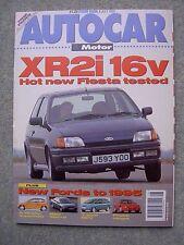 Autocar (8 July 1992) Mazda RX7, XR2i 16v, Mercedes 300CE-24, Nova v Peugeot 106