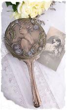 Handspiegel im Shabby Look Frauenfigur Vintage Home Anno 1900 Kosmetikspiegel