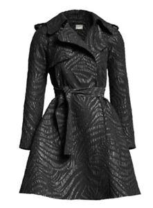 X Coat Patterned Uk10leggermente Hm Zebra grande Lanvin Black più QrdCoBexW