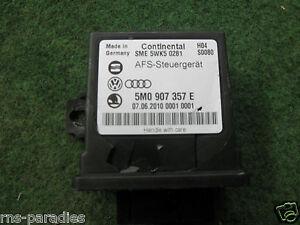 Original VW Passat 3C Control Unit Automatic Leveling Headlamp Lwr 5M0907357E