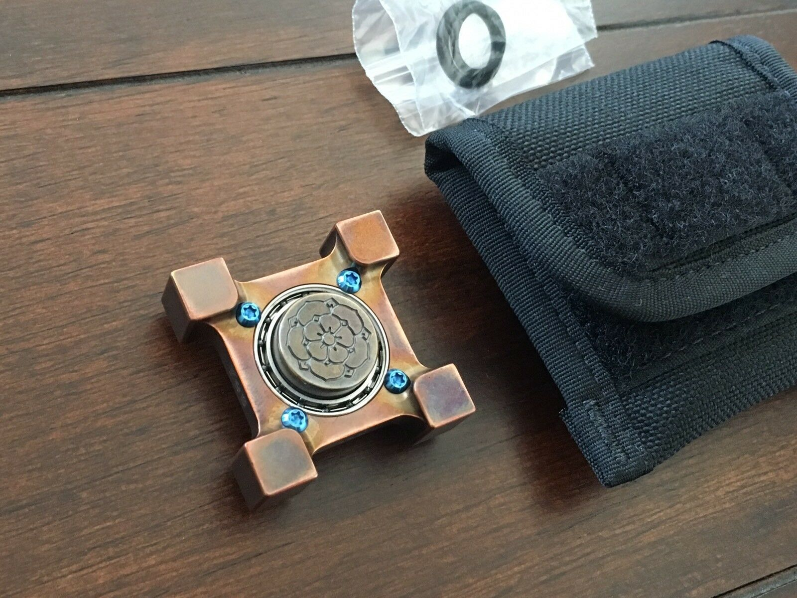 STEEL FLAME Killbox Ring Spin Spinner oui non côtés avec Burnley Rose limace