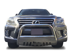 Details about Broadfeet Front Bull Bar W Skid Plate Bumper Guard Protector  Lexus LX570 2008-16