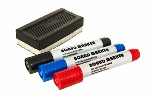 WHITEBOARD MARKERS WHITE BOARD DRY ERASE MARKER PENS SET