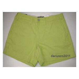 89-89-POLO-RALPH-LAUREN-CHINOS-CASINO-LIME-GREEN-SHORTS-SIZE-10