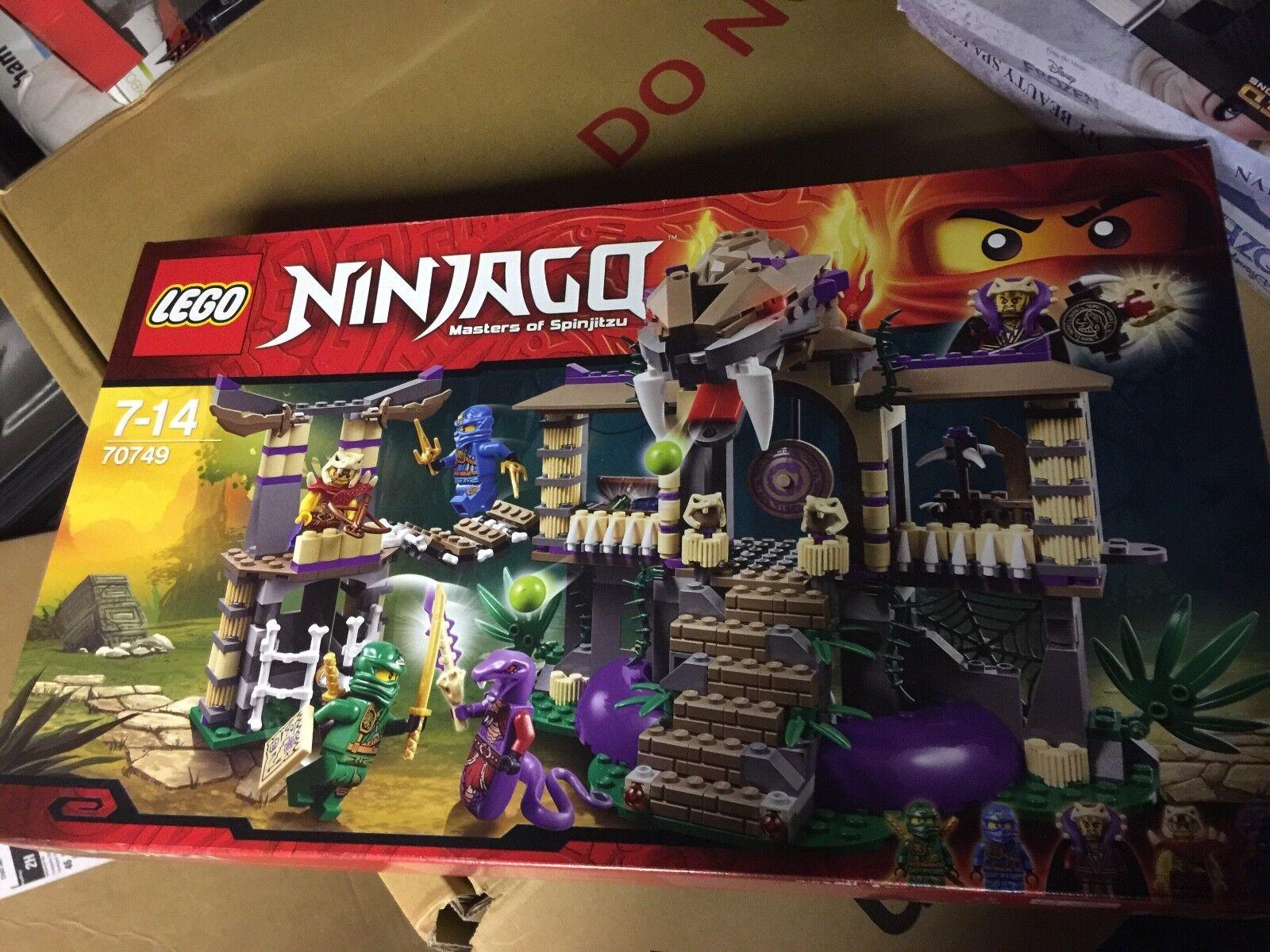 Lego Lego Lego Ninjago-Saisir le serpent (70749)... new & sealed retirouge Set e998d9