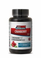 Cranberry Concentrated Extract 50:1 Healthy Urinary Tract (1 Bottle, 60 Caps)