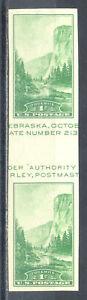 US-Stamp-L1742-Scott-769-Mint-HR-Nice-Imperf-Horizontal-Gutter-Pair