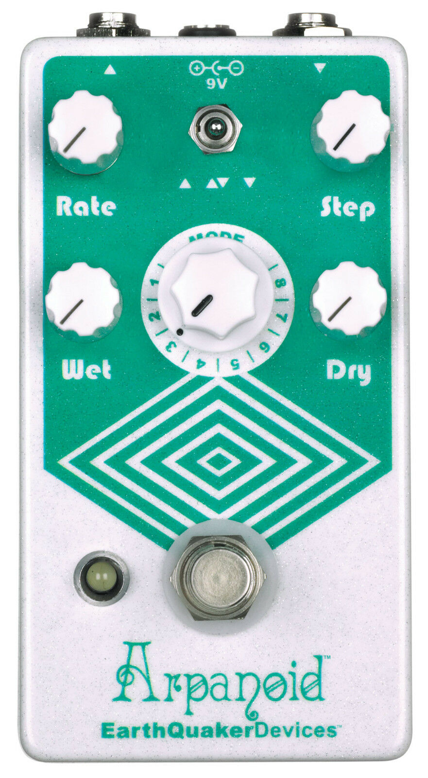 EARTHQUAKER DEVICES ARPANOID POLYPHONIC PITCH ARPEGGIATOR Guitar Effect Pedal
