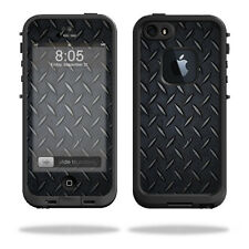 Skin Decal Wrap for LifeProof iPhone 5/5s/SE Case fre Case Black Diamond Plate