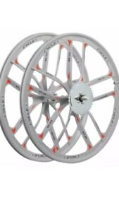 """Bicycle Wheels 26"""" Motorized BICYCLE With Mounted Rear Chain Sprocket."""