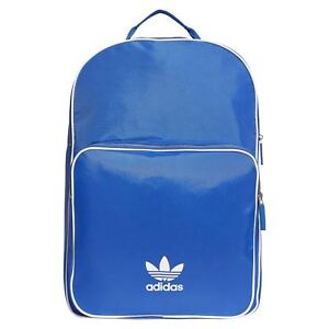 bd1c2fd60820 Image is loading adidas-ORIGINALS-ADICOLOR-TREFOIL-BACKPACK -BLUE-BAGS-COLLEGE-