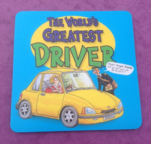 PASSED DRIVING TEST   The Worlds Greatest Driver  Coaster Mug Mat  Neoprene  BN