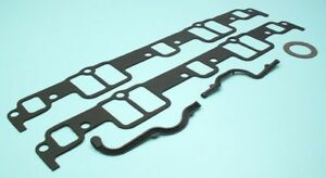 Details about Chevy 348 409 V8 Intake Manifold Gasket Set BEST 1958-65  except H/P