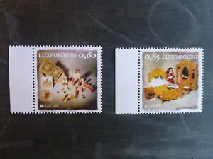 2015-LUXEMBOURG-EUROPEAN-TOYS-SET-OF-2-MINT-STAMPS-MNH