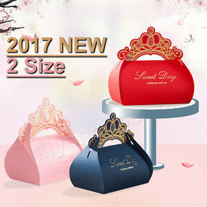 Image Is Loading Red Blue Crown Gilding Sweet Day Wedding Favour