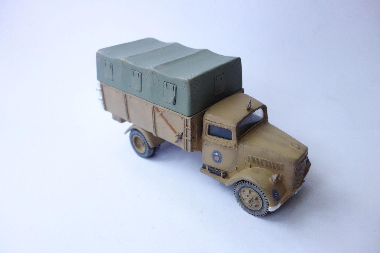 están haciendo actividades de descuento King & Country Country Country German África cuerpo Opel Blitz military Truck, 1 30 ak37  excelentes precios