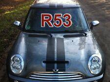 Viper-Streifen Aufkleber Rally Stripes für BMW MINI COOPER R53 *S* Works Union