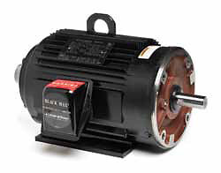 Marathon 5 hp 1200 rpm tenv 230 460 volts black max 215tc for Marathon black max motors