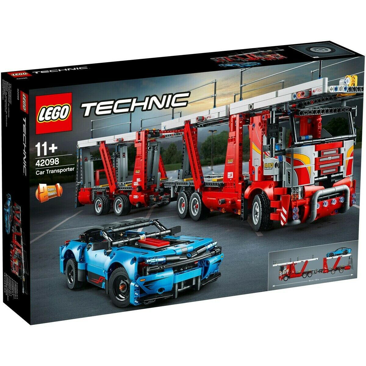 LEGO Technic 42098 - Car Transporter - New sealed - International