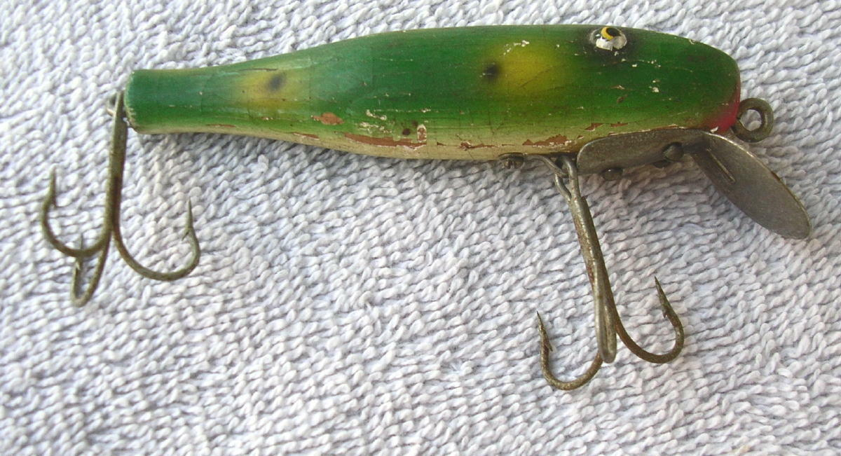 1930's Wooden Arnold Fishing  Lure  buy cheap